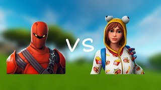 1v1  one of my clan members (fortnite android mobile)
