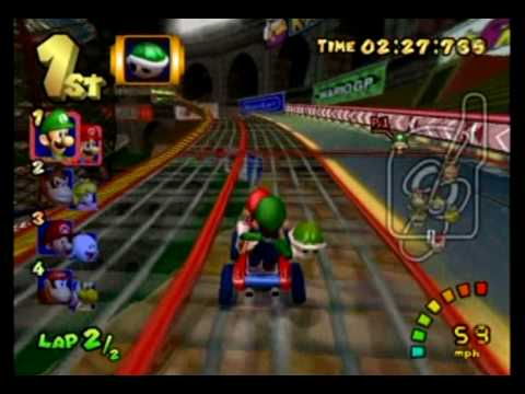 Mario Kart: Double Dash!! Special Cup 150cc - Part 1