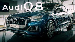 Audi Q8 2020 новый взгляд на превосходство! ПОДРОБНО О ГЛАВНОМ