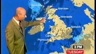 BBC Weather 6th September 2005
