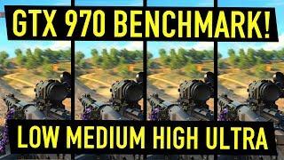 GTX 970 Benchmark 2018 Black Ops 4 Settings!