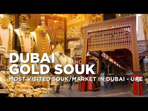 Dubai Gold Souk | Exploring INSIDE the Dubai Gold Market | Dubai City of Gold in Deira, Dubai