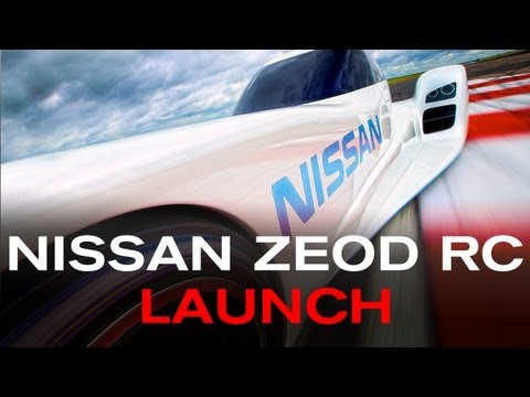 Nissan Stakes Claim to World's Fastest Electric Race Car