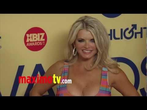Vicky Vette 2013 XBIZ Awards Red Carpet Arrivals