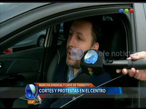 La marcha de la CGT a Plaza de Mayo – Telefe Noticias