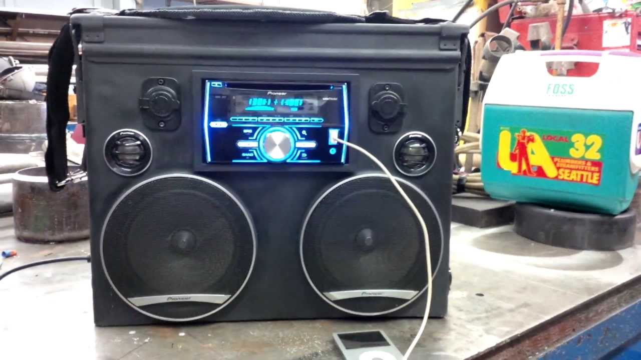 Ammo Can Boombox V 3 0 4of6 Youtube