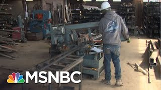 President Donald Trump Is 'Going To Level The Playing Field' On Steel | MTP Daily | MSNBC