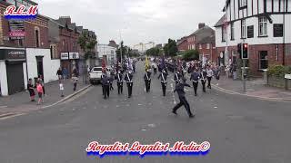 East Belfast Protestant Boys FB @ Gertrude Star FB Parade 2018