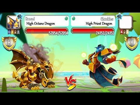 High Octane Dragon Vs High Priest Dragon In Lap