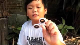 Fidget Spinner 9 Kids Toys | Captain America | Mainan Anak Spinner Terbaru