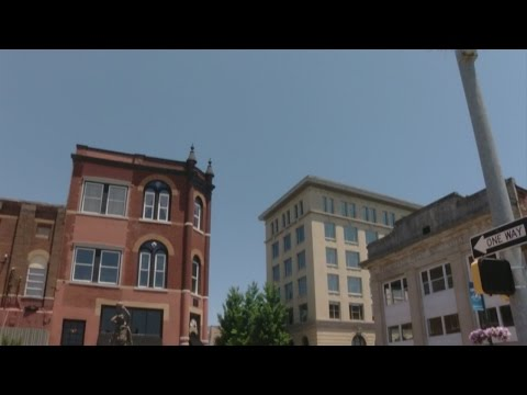 Exploring Downtown Johnson City