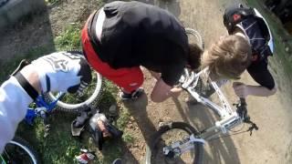 Bikepark Moninec jak nasadit řetěz :D :D