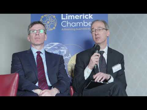 Carl Tannenbaum advises government at Limerick Chamber event
