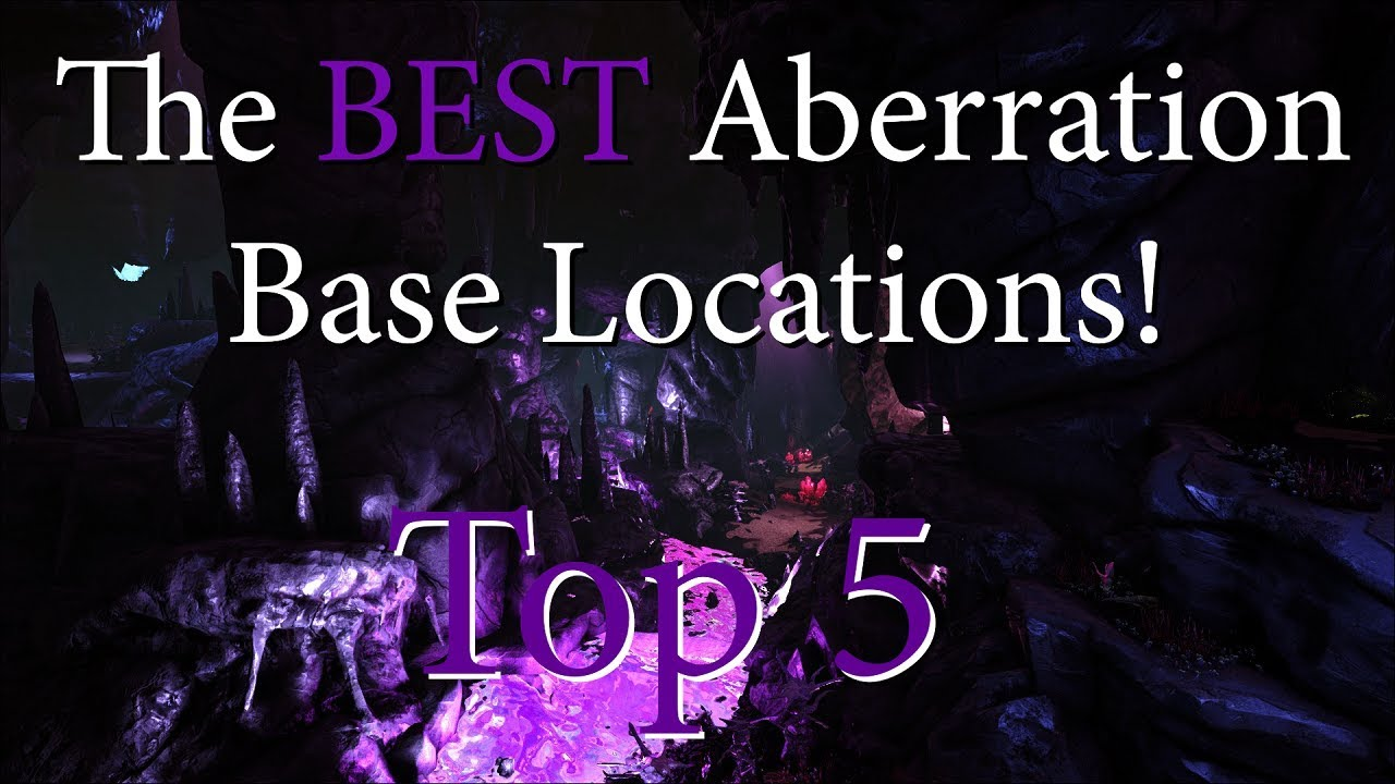 Best Base Locations Ark The Island 2020 THE BEST BASE LOCATION IN ABERRATION! No Raiding This Bad Boy. Top