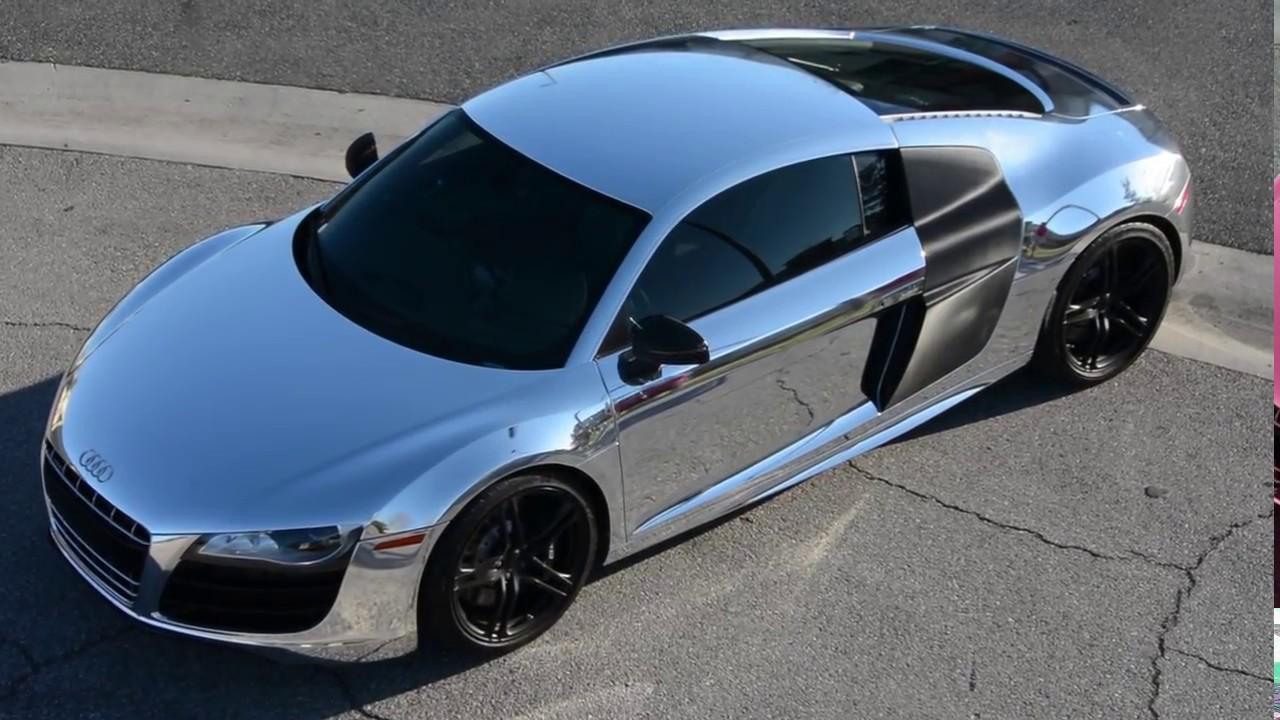 Audi R8 Chrome Wrap Youtube