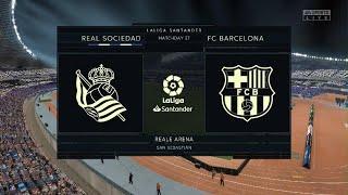 Real Sociedad Vs Barcelona | La Liga 21 March 2021 Prediction