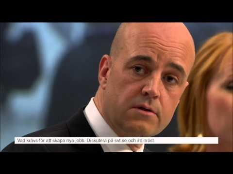Sjöstedt fick äta upp attacken mot Reinfeldt