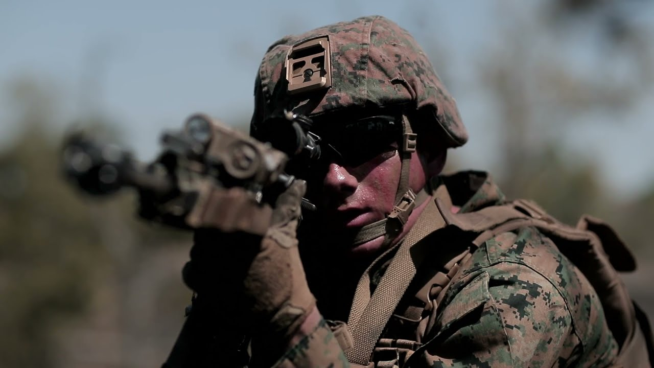 US Military News • U.S Marines Squad Fire & Maneuver Training •  Camp Lejeune, North Carolina