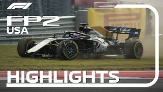 2019 United States Grand Prix: FP2 Highlights