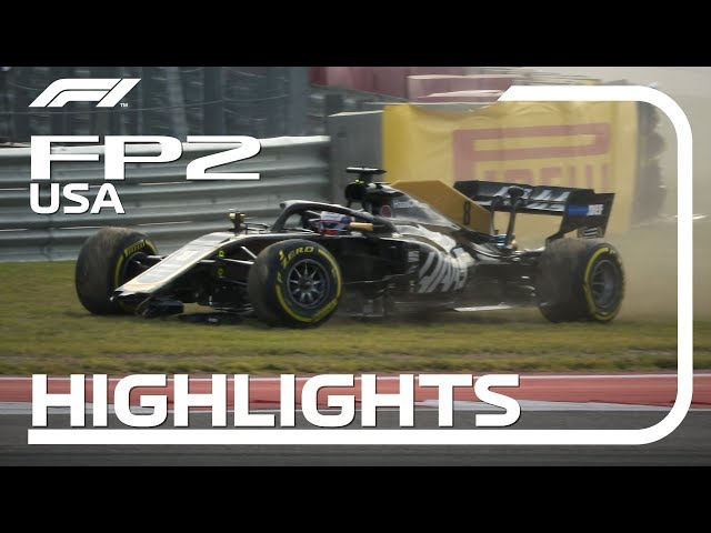 2019 United States Grand Prix: FP2 Highlights