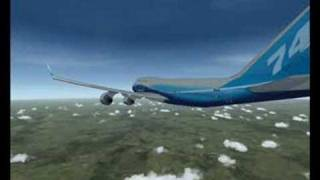 FSX - Sydney to Tokyo 12 hour flight