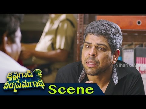 30 Years Industry Prithvi Comedy With Murali Sharma - Krishna Gaadi Veera Prema Gaadha Movie Scenes