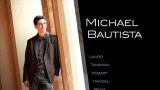 Michael Bautista plays Handel - III. Sarabande