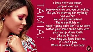 Tamia - It's Yours- LYRICS