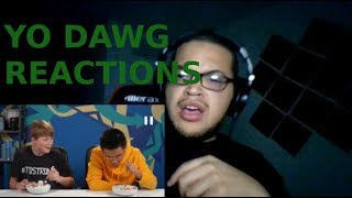 Try Not To Eat Challenge - Reaction Video (Yo Dawg Reactions)