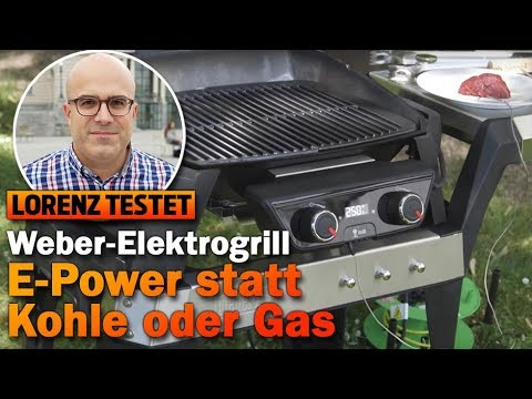 kann der weber elektrogrill mit kohle oder gas mithalten youtube. Black Bedroom Furniture Sets. Home Design Ideas