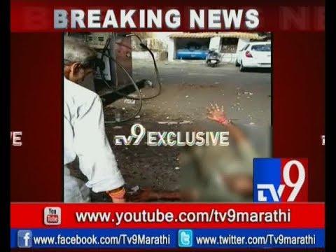 Kandivali : पेट्रोल पंपावर सीएनजी गॅसचा स्फोट | CNG Blast at Petrol Pump-TV9 EXCLUSIVE