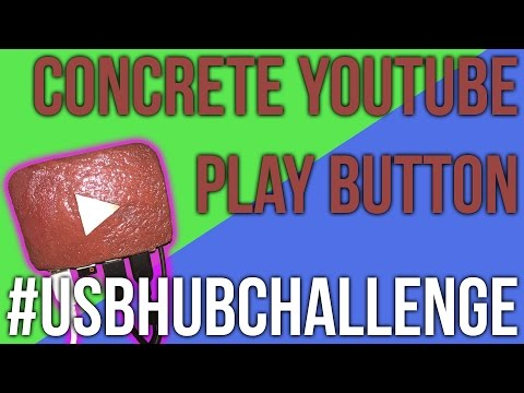 Concrete YouTube Creator Play Button Hub | #USBHUBCHALLENGE | Inspired by Gaico Whatever | How To