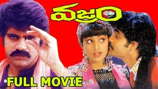 Vajram Telugu HD Full Movie - Nagarjuna, Roja, K. Vishwanath, Indraja - V9 Videos