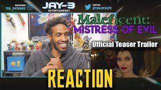 Maleficent: Mistress of Evil  Official Teaser Trailer Reaction