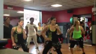 "Zumba fitness ""la Nina Fresa"""