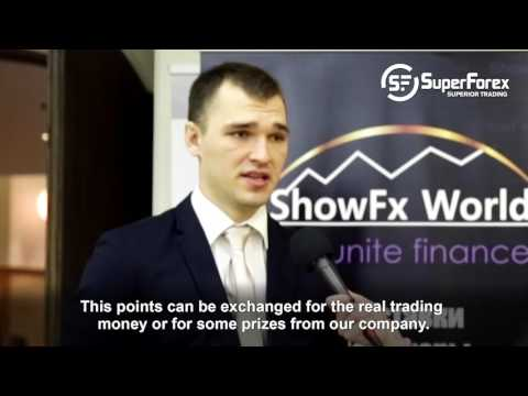 Superforex at ShowFX in Moscow. March 12. 2016