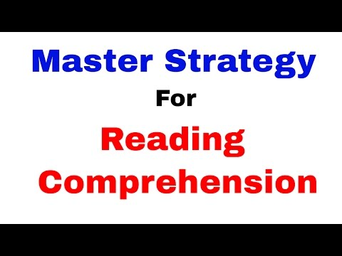 Master Strategy for Reading Comprehension [Recommended] [In Hindi]