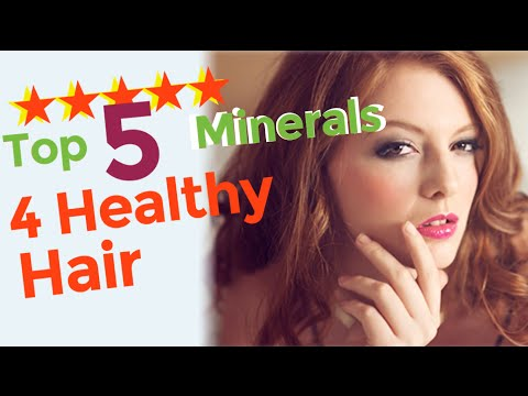 Top 5 minerals to prevent hair loss and promote hair growth