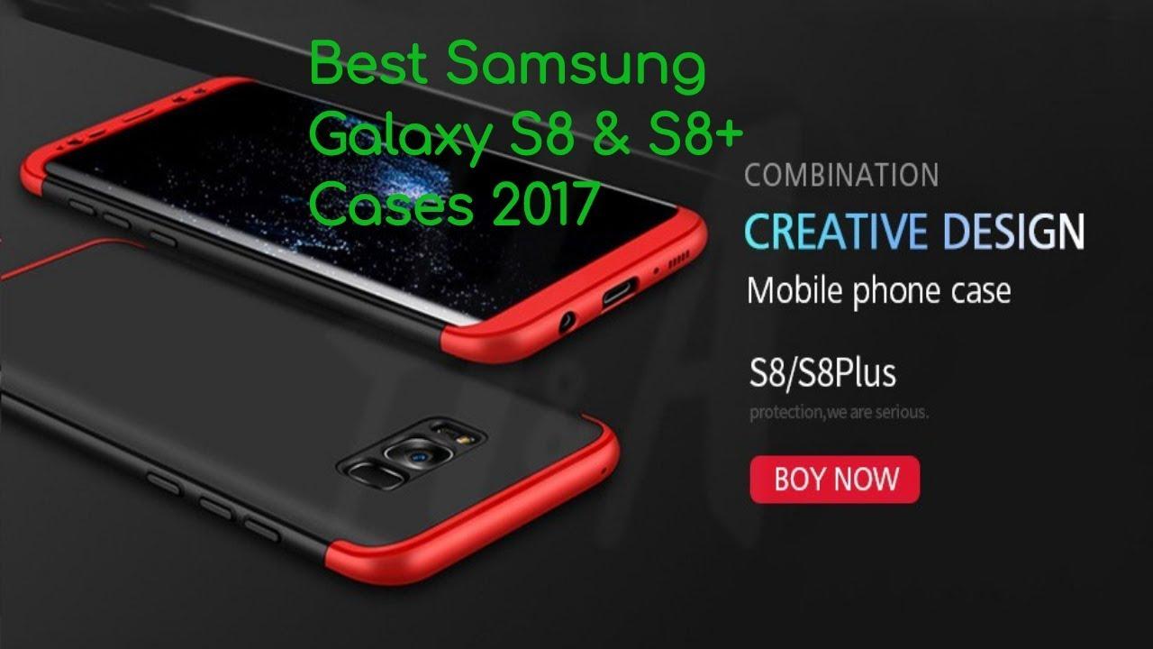 innovative design db2ca f0ccb Best Samsung Galaxy S8 Cases - H&A 360 Degree Ultra Thin Fashion Matte  Samsung Galaxy S8 Case