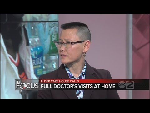 Doctors offering medical house calls for elderly patients