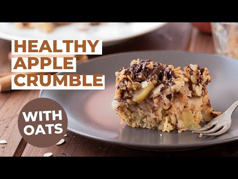 The Best Healthy Apple Crumble With Oats