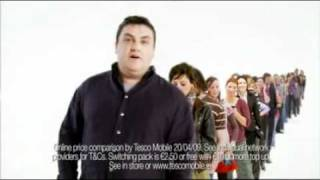 Tesco Mobile commercial (Ireland)
