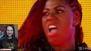 WWE Raw 4/9/18 Ember Moon Debut