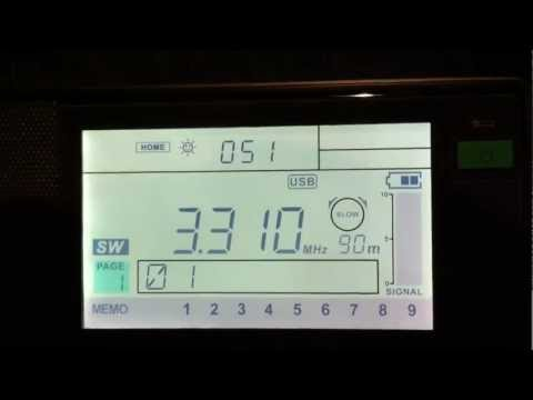 3310 KHz USB Odessa (Coastal Radio) Navigation Warning