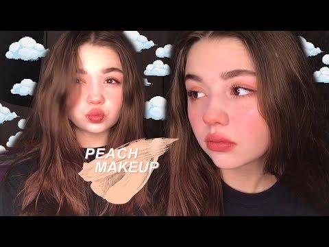 🍑Персиковый макияж | Peach makeup | 윤Avelina🍑