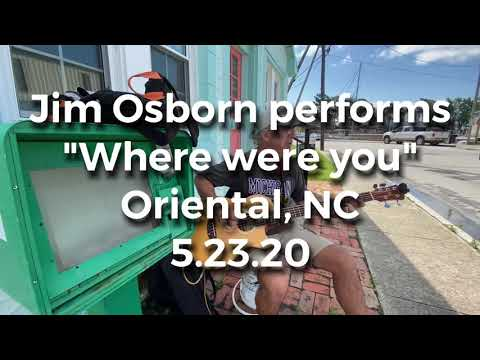 Jim Osborn performs