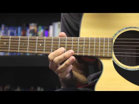 Kanye West - All Falls Down (Acoustic Instrumental Tutorial)