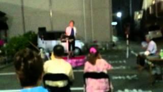 秋川雅史さんの千の風になってをカラオケ大会で歌ってみた.