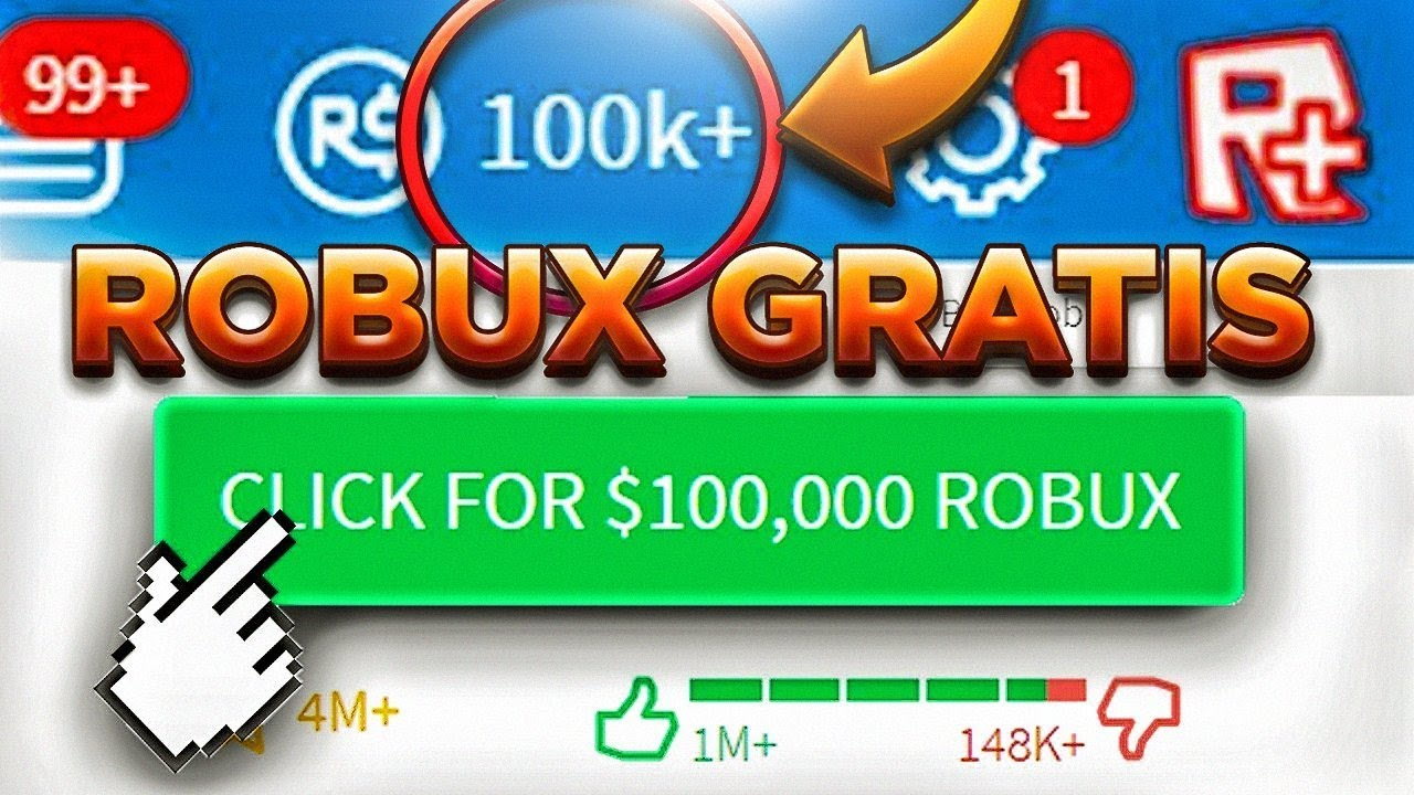 Como Tener Robux Gratis Muy Facil 100 Real Roblox Youtube