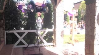 Выход невесты, свадьба 18.07.2015